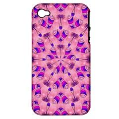 Mandala Tiling Apple Iphone 4/4s Hardshell Case (pc+silicone) by Simbadda