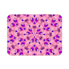 Mandala Tiling Double Sided Flano Blanket (mini)  by Simbadda