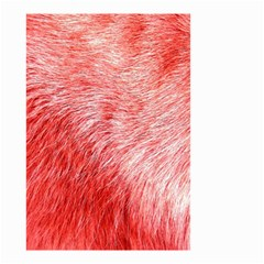 Pink Fur Background Small Garden Flag (two Sides) by Simbadda