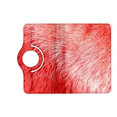 Pink Fur Background Kindle Fire Hd (2013) Flip 360 Case by Simbadda