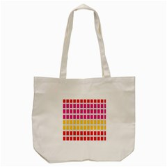 Squares Pattern Background Colorful Squares Wallpaper Tote Bag (cream) by Simbadda