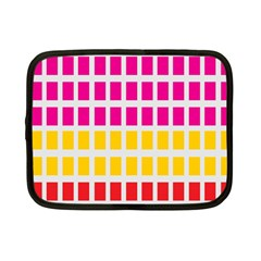 Squares Pattern Background Colorful Squares Wallpaper Netbook Case (small)  by Simbadda