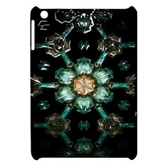 Kaleidoscope With Bits Of Colorful Translucent Glass In A Cylinder Filled With Mirrors Apple Ipad Mini Hardshell Case by Simbadda