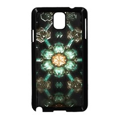 Kaleidoscope With Bits Of Colorful Translucent Glass In A Cylinder Filled With Mirrors Samsung Galaxy Note 3 Neo Hardshell Case (black) by Simbadda