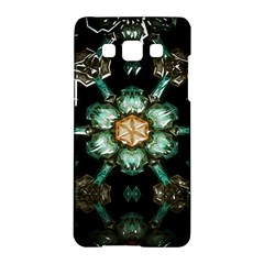 Kaleidoscope With Bits Of Colorful Translucent Glass In A Cylinder Filled With Mirrors Samsung Galaxy A5 Hardshell Case  by Simbadda