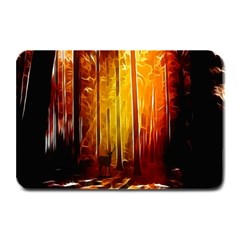 Artistic Effect Fractal Forest Background Plate Mats by Simbadda