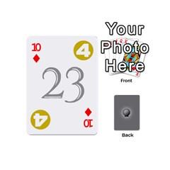 Skeleton Deck V1 By Kevan Davis   Playing Cards 54 (mini)   Iw1l3ruf2l55   Www Artscow Com Front - Diamond10