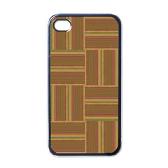 Pattern Apple Iphone 4 Case (black) by Valentinaart