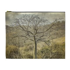 Ceiba Tree At Dry Forest Guayas District   Ecuador Cosmetic Bag (xl) by dflcprints