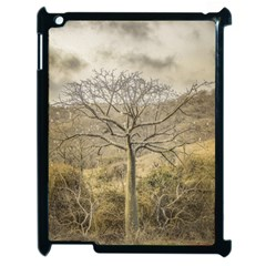 Ceiba Tree At Dry Forest Guayas District   Ecuador Apple Ipad 2 Case (black) by dflcprints