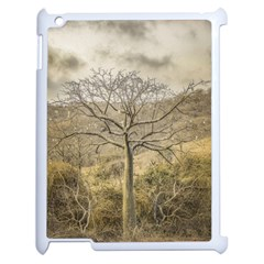 Ceiba Tree At Dry Forest Guayas District   Ecuador Apple Ipad 2 Case (white) by dflcprints