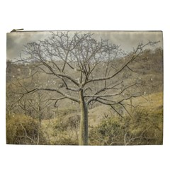 Ceiba Tree At Dry Forest Guayas District   Ecuador Cosmetic Bag (xxl)  by dflcprints