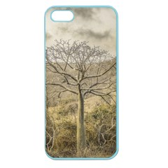 Ceiba Tree At Dry Forest Guayas District   Ecuador Apple Seamless Iphone 5 Case (color) by dflcprints