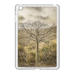 Ceiba Tree At Dry Forest Guayas District   Ecuador Apple Ipad Mini Case (white) by dflcprints