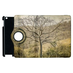 Ceiba Tree At Dry Forest Guayas District   Ecuador Apple Ipad 2 Flip 360 Case by dflcprints