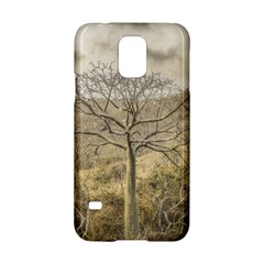 Ceiba Tree At Dry Forest Guayas District   Ecuador Samsung Galaxy S5 Hardshell Case  by dflcprints