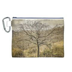 Ceiba Tree At Dry Forest Guayas District   Ecuador Canvas Cosmetic Bag (l) by dflcprints
