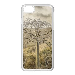 Ceiba Tree At Dry Forest Guayas District   Ecuador Apple Iphone 7 Seamless Case (white) by dflcprints