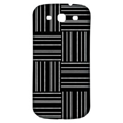 Pattern Samsung Galaxy S3 S Iii Classic Hardshell Back Case by Valentinaart