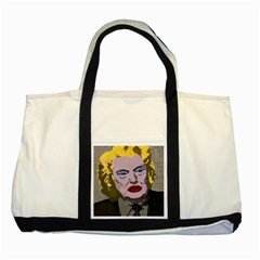 Happy Birthday Mr  President  Two Tone Tote Bag by Valentinaart