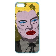 Happy Birthday Mr  President  Apple Seamless Iphone 5 Case (color) by Valentinaart