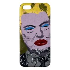 Happy Birthday Mr  President  Iphone 5s/ Se Premium Hardshell Case by Valentinaart