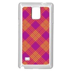 Pattern Samsung Galaxy Note 4 Case (white) by Valentinaart