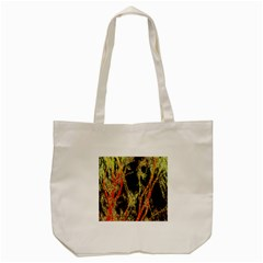 Artistic Effect Fractal Forest Background Tote Bag (cream) by Simbadda