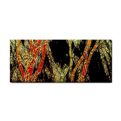 Artistic Effect Fractal Forest Background Cosmetic Storage Cases by Simbadda
