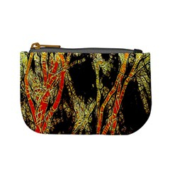 Artistic Effect Fractal Forest Background Mini Coin Purses by Simbadda
