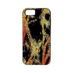 Artistic Effect Fractal Forest Background Apple Iphone 5 Classic Hardshell Case (pc+silicone) by Simbadda