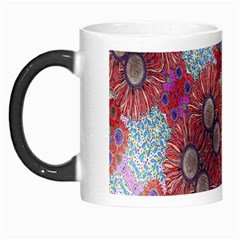 Floral Flower Wallpaper Created From Coloring Book Colorful Background Morph Mugs by Simbadda
