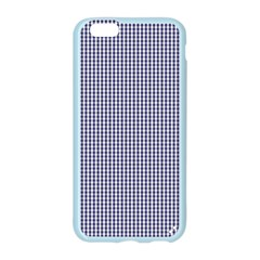 USA Flag Blue and White Gingham Checked Apple Seamless iPhone 6/6S Case (Color) by PodArtist