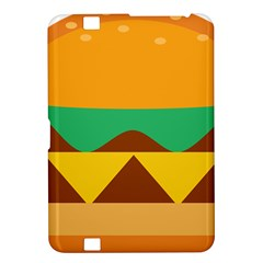 Hamburger Bread Food Cheese Kindle Fire Hd 8 9  by Simbadda