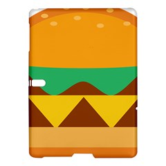 Hamburger Bread Food Cheese Samsung Galaxy Tab S (10 5 ) Hardshell Case  by Simbadda