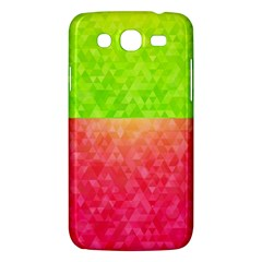 Colorful Abstract Triangles Pattern  Samsung Galaxy Mega 5 8 I9152 Hardshell Case  by TastefulDesigns