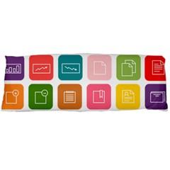 Icons Vector Body Pillow Case (dakimakura) by Simbadda