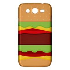 Vector Burger Time Background Samsung Galaxy Mega 5 8 I9152 Hardshell Case  by Simbadda