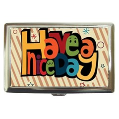 Have A Nice Happiness Happy Day Cigarette Money Cases by Simbadda
