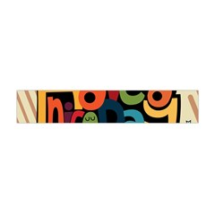 Have A Nice Happiness Happy Day Flano Scarf (mini) by Simbadda