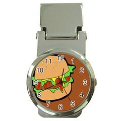 Burger Double Money Clip Watches by Simbadda