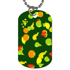 Seamless Tile Background Abstract Dog Tag (two Sides) by Simbadda