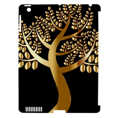 Abstract Art Floral Forest Apple Ipad 3/4 Hardshell Case (compatible With Smart Cover) by Simbadda