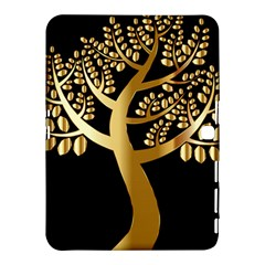 Abstract Art Floral Forest Samsung Galaxy Tab 4 (10 1 ) Hardshell Case  by Simbadda