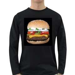 Abstract Barbeque Bbq Beauty Beef Long Sleeve Dark T Shirts by Simbadda
