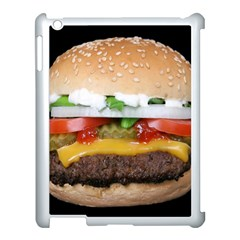 Abstract Barbeque Bbq Beauty Beef Apple Ipad 3/4 Case (white) by Simbadda