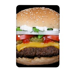 Abstract Barbeque Bbq Beauty Beef Samsung Galaxy Tab 2 (10 1 ) P5100 Hardshell Case  by Simbadda