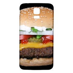 Abstract Barbeque Bbq Beauty Beef Samsung Galaxy S5 Back Case (white) by Simbadda
