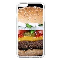 Abstract Barbeque Bbq Beauty Beef Apple Iphone 6 Plus/6s Plus Enamel White Case by Simbadda