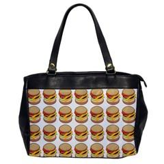 Hamburger Pattern Office Handbags by Simbadda